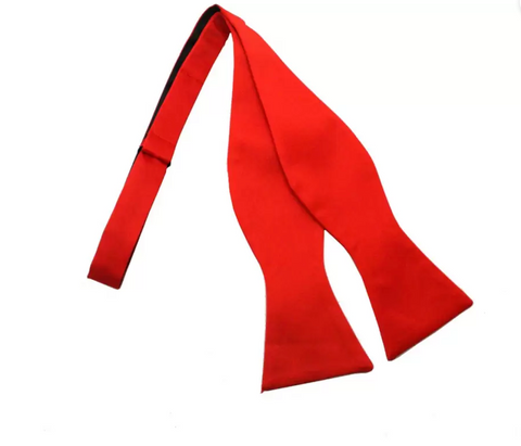 Noeud Papillon rouge ouvert | Cotton Park