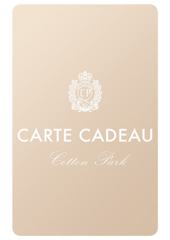 Carte Cadeau | Cotton Park