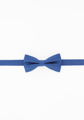 Noeud papillon marine motifs caviar bleu royal | Cotton Park