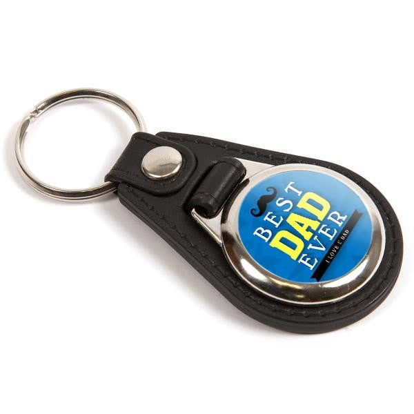 Personalised Medallion Keyring 25mm Round