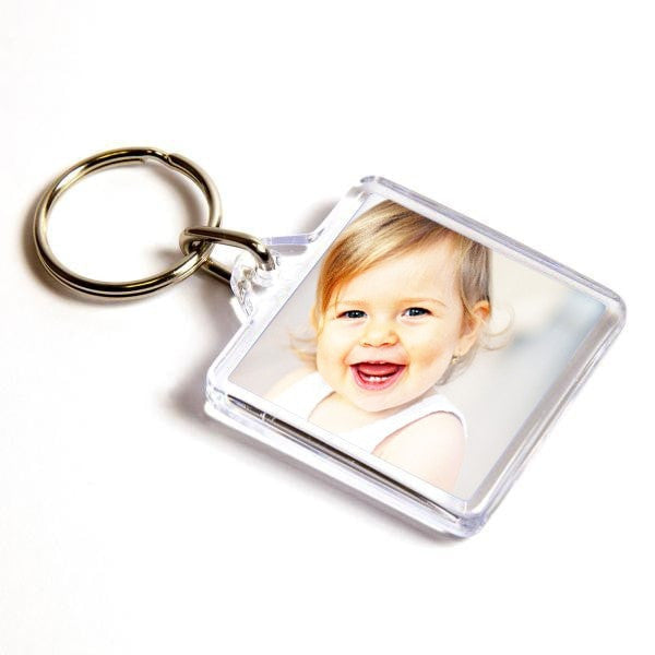 Personalised Keyring 32mm x 32mm
