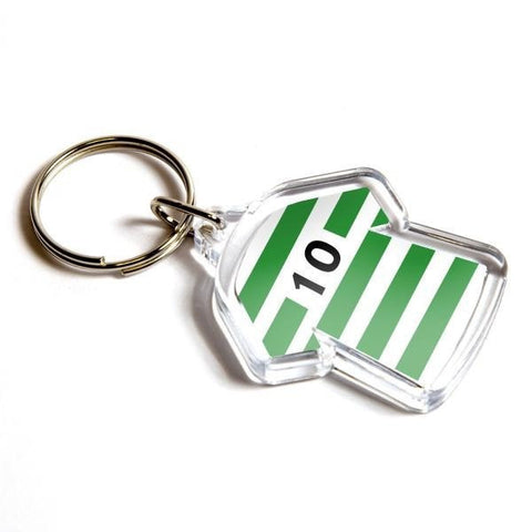 Personalised Keyring 35mm x 24mm Shirt