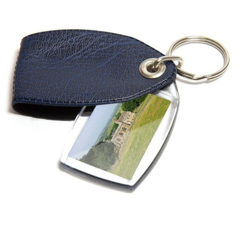 Personalised Keyring 35mm x 24mm Blue