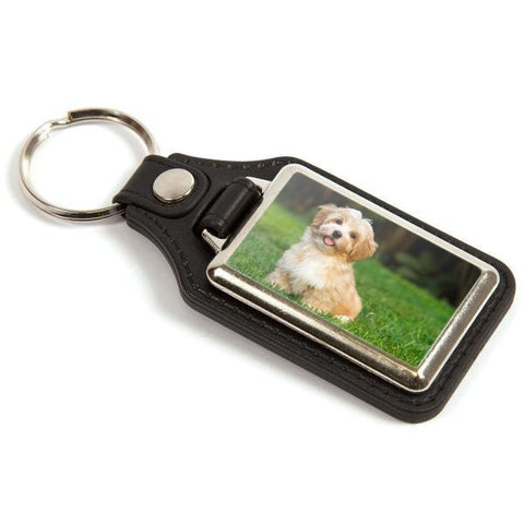 Personalised Medallion Keyring 40mm x 25mm