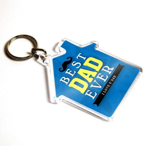 Personalised Keyring 59mm x 56mm House