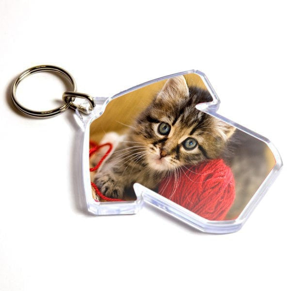 Personalised Keyring 60mm x 38mm Shirt