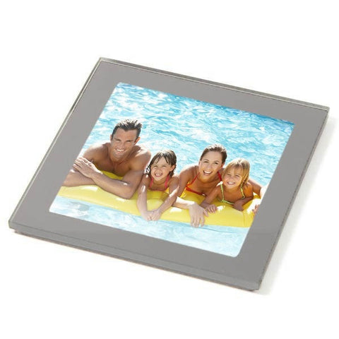 Personalised Coaster Glass 80mm Square