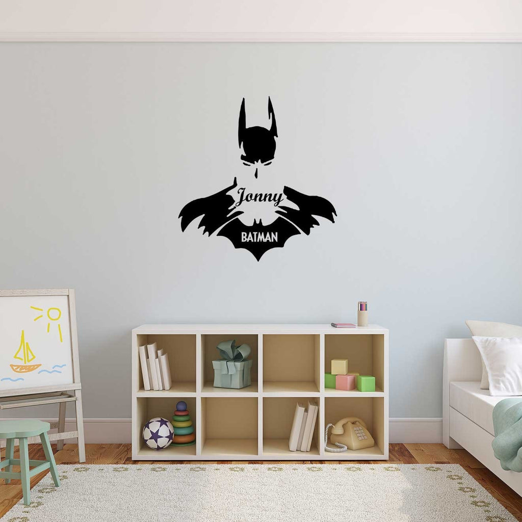 Personalised Batman Wall Art