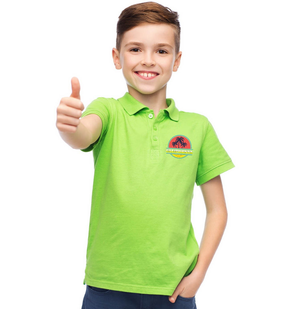 Design your own t-shirt for toddlers - Personalised Childrens Polo Shirt
