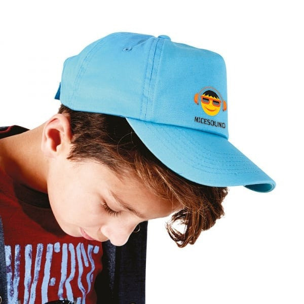 Personalised Childrens Flat Peak Cap
