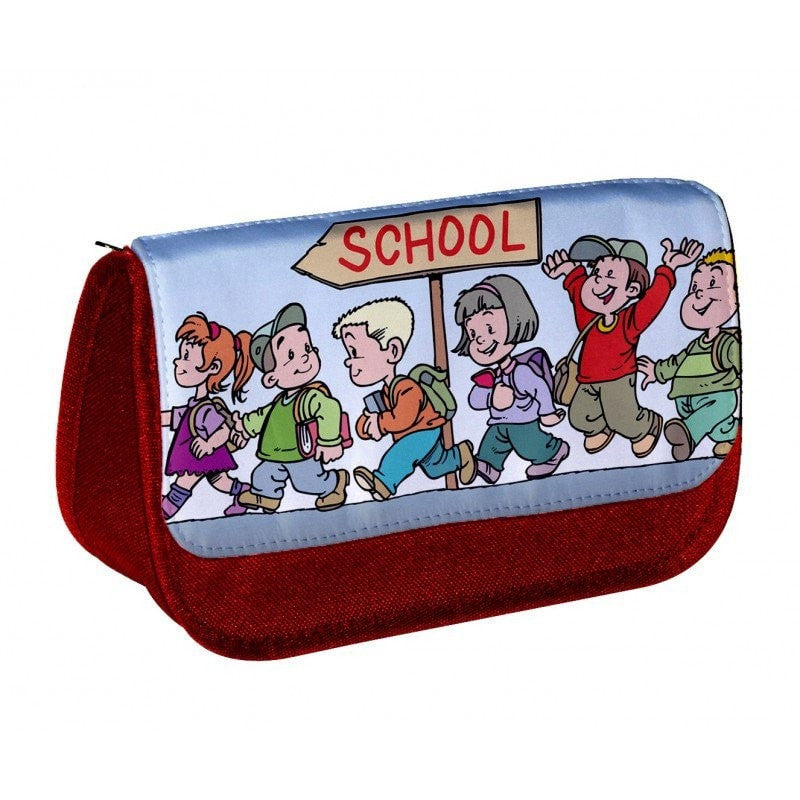 Personalised Pencil Case Red