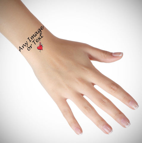 Personalised Temporary Wrist Tattoo
