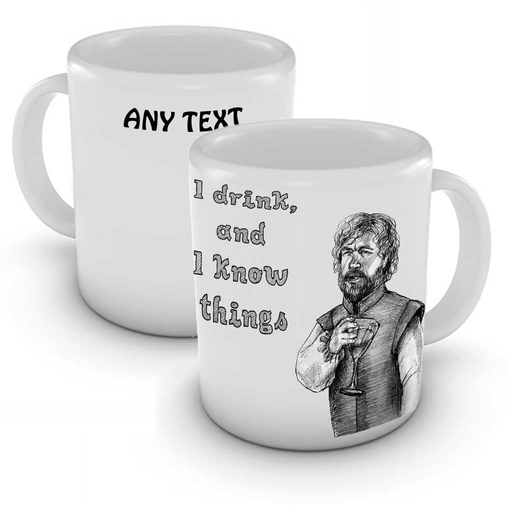 Tyrion Lannister Game of Thrones Personalised Mug