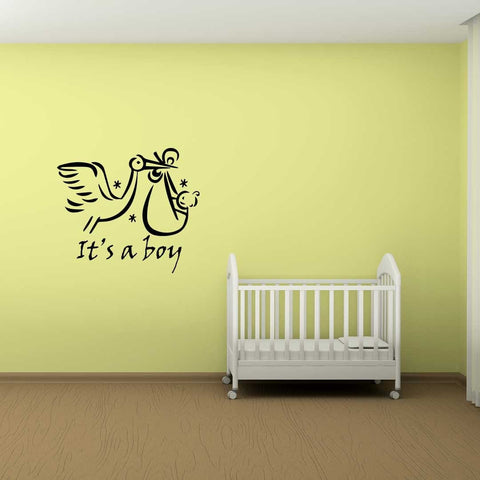 Baby Delivery Wall Sticker