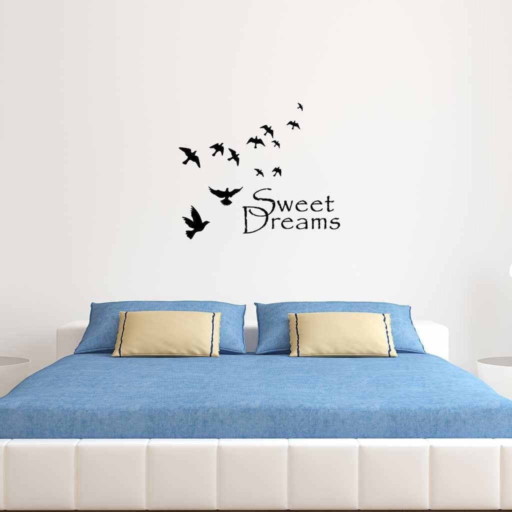 Flying Birds Personalised Wall Sticker
