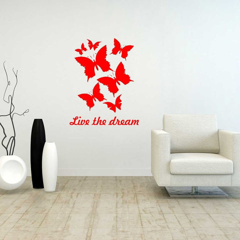 Personalised Butterfly Wall Art