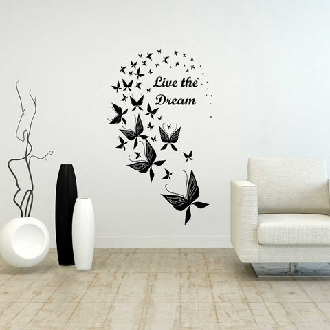 Butterfly Personalised Wall Art