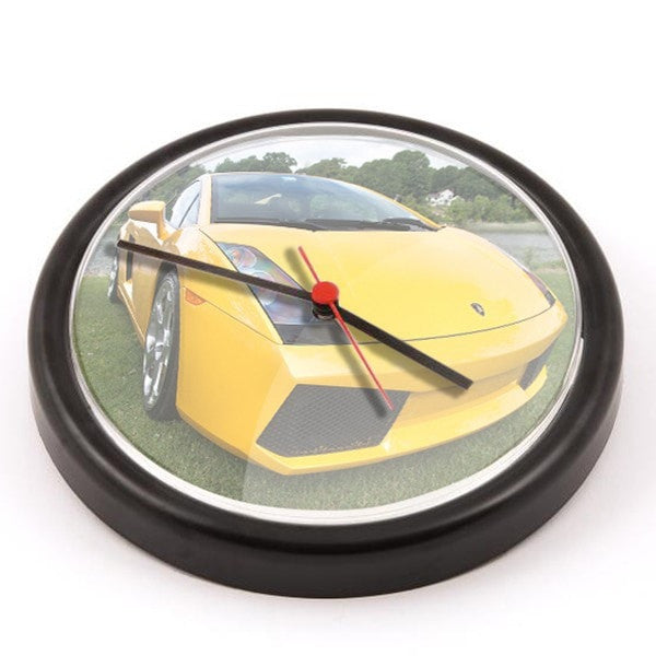 Personalised Wall Clock Black
