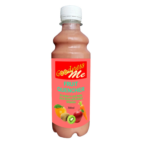 Goodness Me Fruit Quencher Juice Drink 8 x 300ml