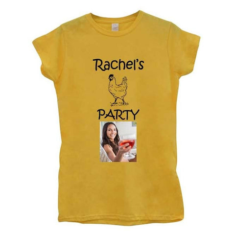 Hen Party Personalised T-shirt