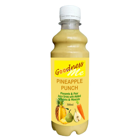 Goodness Me Pineapple Punch Juice Drink 8 x 300ml
