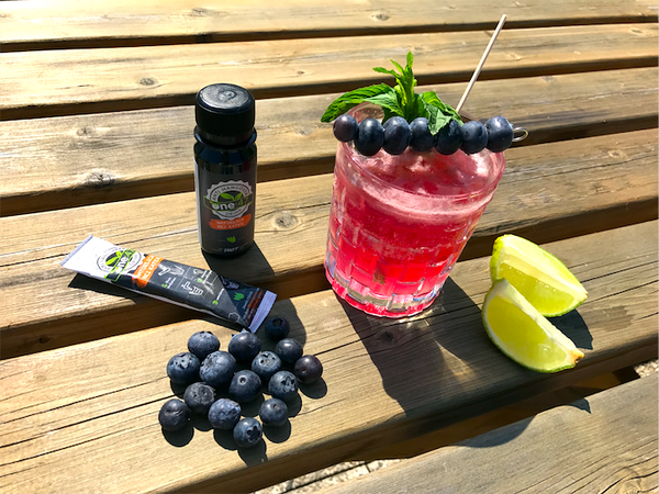 Blueberry Buck Trendcocktail 2017 Rezept Gin one47