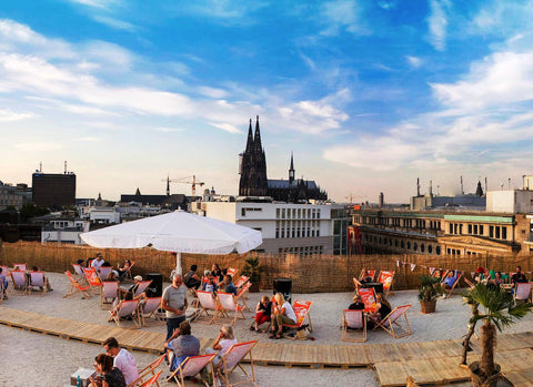 Sonnenscheinetage Köln Beach Bar Rooftop Bars Sommer 2017 Cocktail Party
