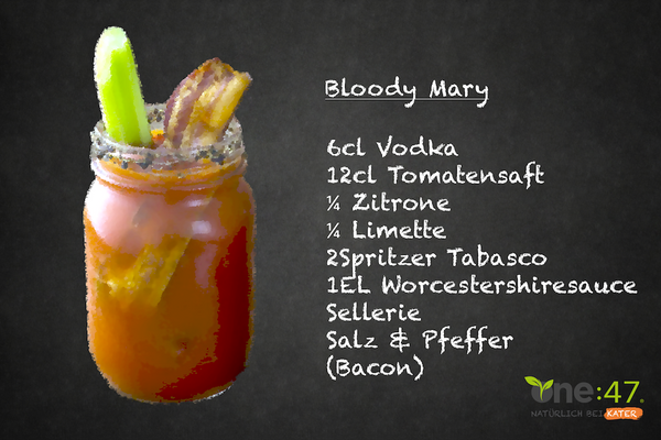 Bloody Mary Cocktail Rezept Vodka Muntermacher