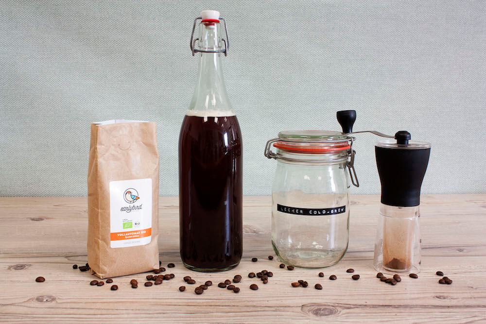 fertiger cold brew kaffee early bird