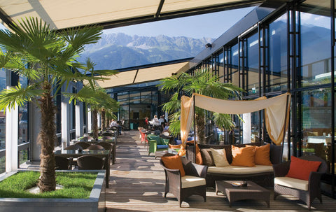 5th Floor Penz Hotel Innsbruck Rooftop Bars Sommer 2017 Cocktail Party
