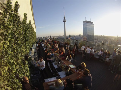 House of Weekend Berlin Techno Dachgarten Rooftop Bars Sommer 2017 Cocktail Party