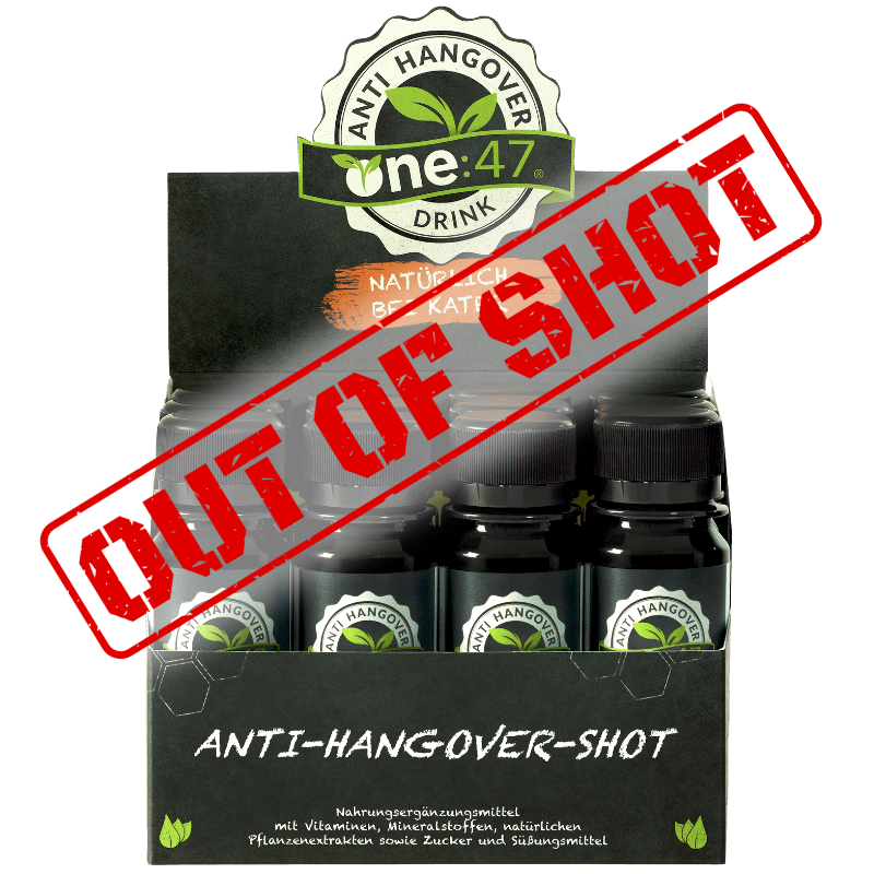 one47 Packung Anti Kater Shots