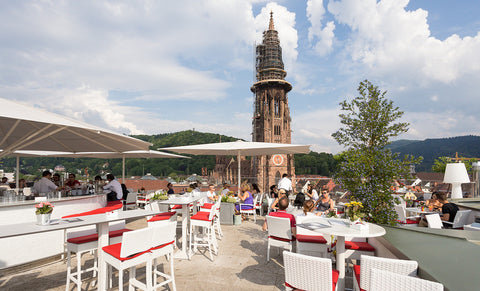Skajo Freiburg Rooftop Bars Sommer 2017 Cocktail Party