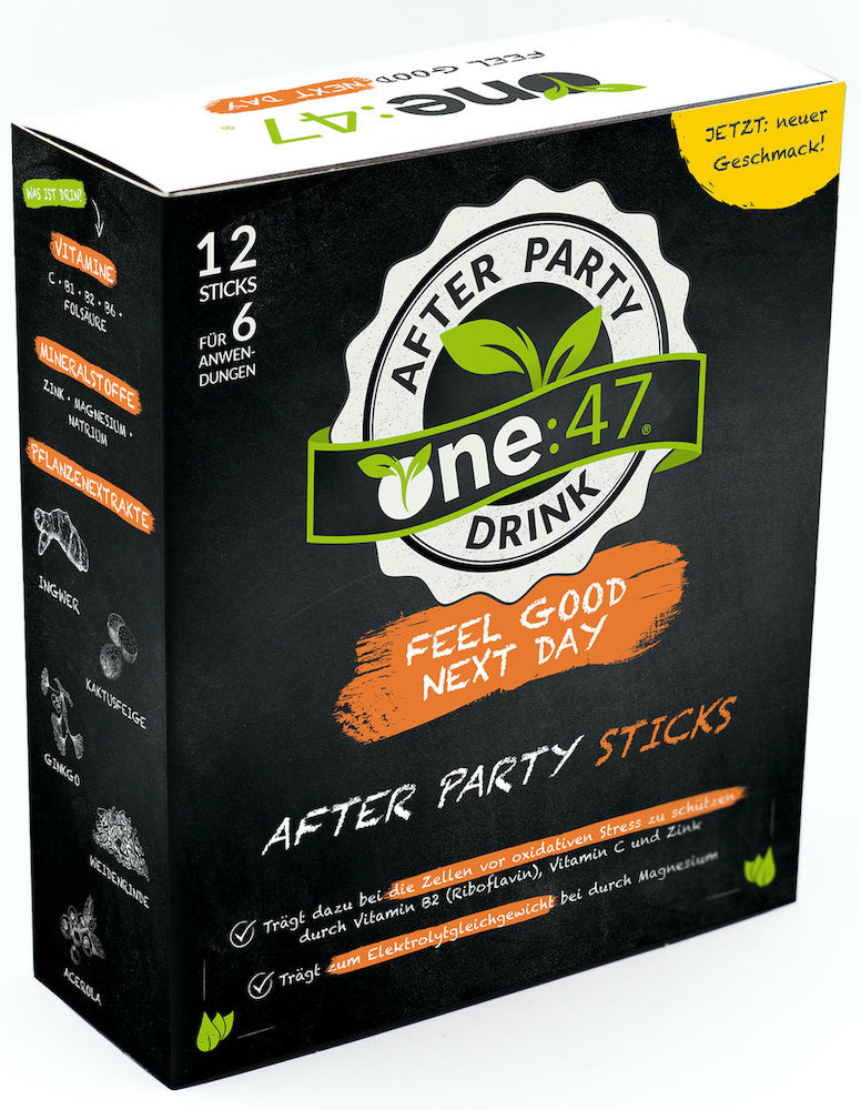 one:47 After Party Sticks
