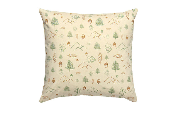 Mountain Forest Printed Cushion