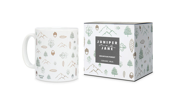 Mountain Forest Mug with Gift Box
