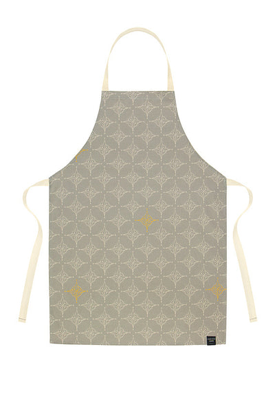 Compass Pattern Apron