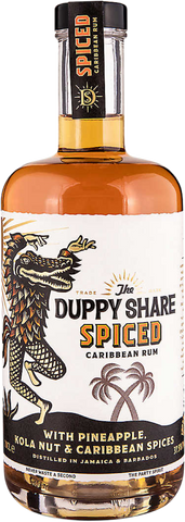 THE DUPPY SHARE SPICED CARRIBEAN RUM