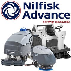 Nilfisk Advance Floor Sweepers and Scrubbers