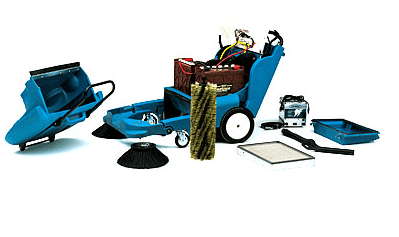 Tennant 3640 Propane Walk Behind Power Sweeper