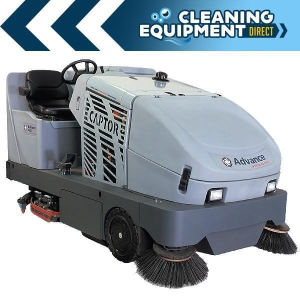 Advance Captor 4800 Propane Powered Rider Sweeper/Scrubber