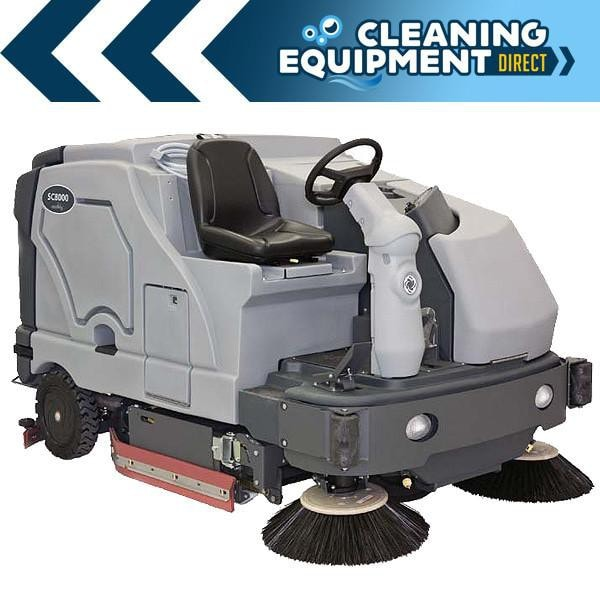 Advance SC8000 Industrial Rider Sweeper Scrubber