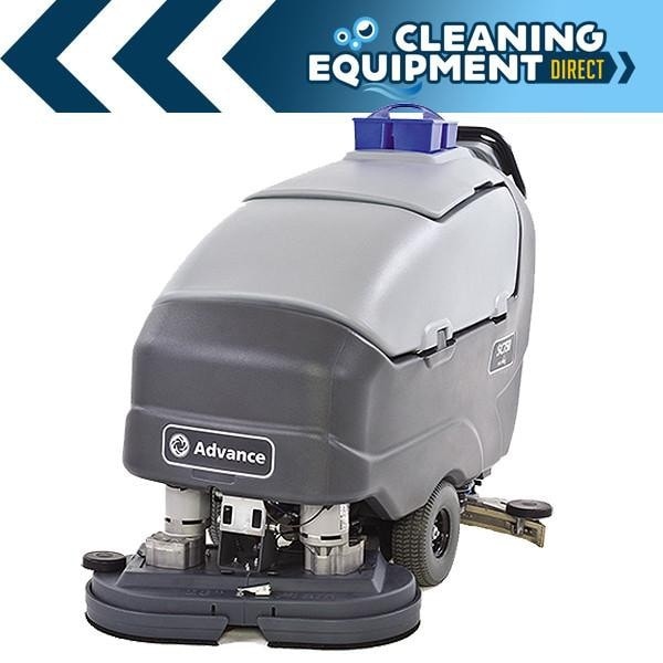 "Advance SC800 34"" Disc Walk Behind Scrubber"