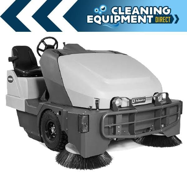 Advance SW8000 Indoor/OutDoor Rider Sweeper