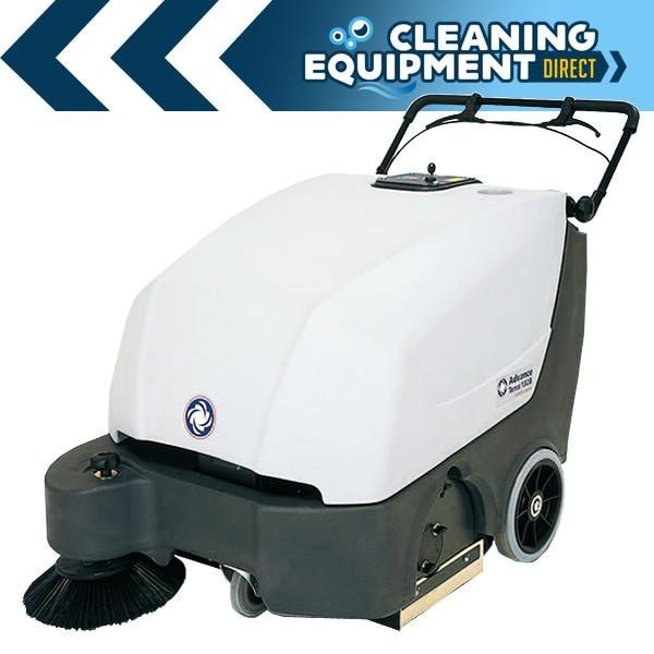 Advance Terra 132 Powered Walk Behind Sweeper