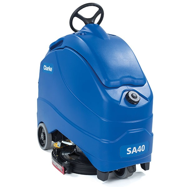 Clarke SA40 20B with On Board Charger Stand-On Disc Scrubber - Refurbished