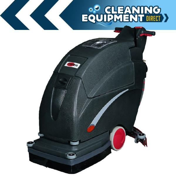 "Viper Fang 20"" Battery Walk Behind Scrubber"