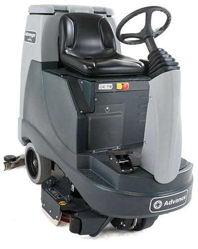 New Nilfisk Advance Advenger REV X2805R-C EcoFlex Rider Floor Scrubber