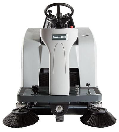New Nilfisk Advance Terra 4300B Compact Rider Sweeper