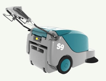 Tennant S9 Large Battery Walk Behind Sweeper